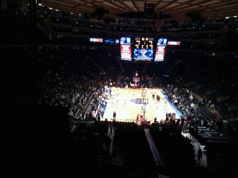 Seating view for Madison Square Garden Section 217 Row 5 Seat 27