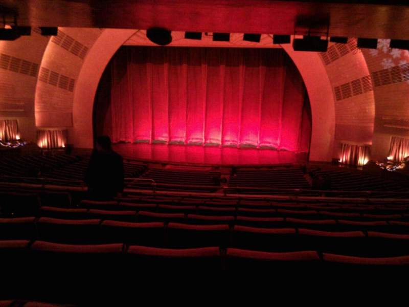 Seating view for Radio City Music Hall Section 1st mezzanine 3 Row k Seat 309