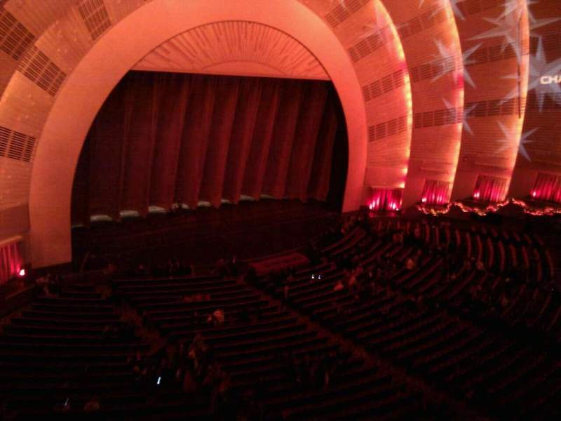 Seating view for Radio City Music Hall Section 3rd mezzanine 7 Row aa Seat 709