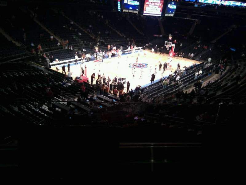 Seating view for Madison Square Garden Section 220 Row 2 Seat 8