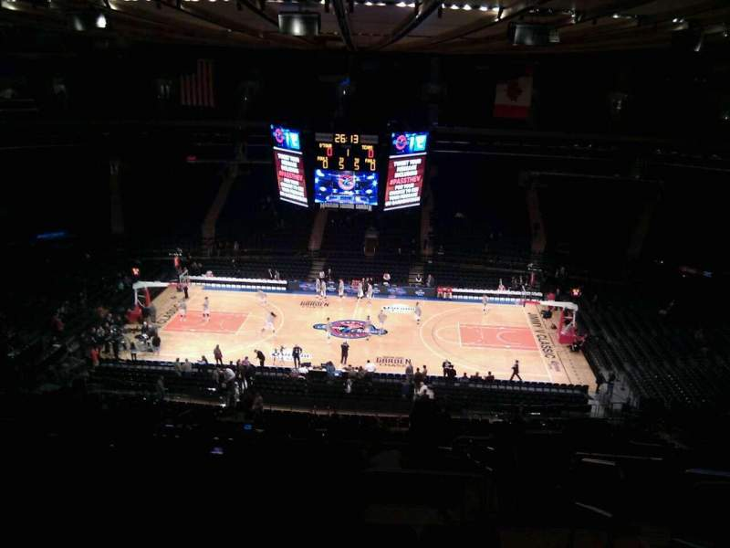 Seating view for Madison Square Garden Section 224 Row 17 Seat 22