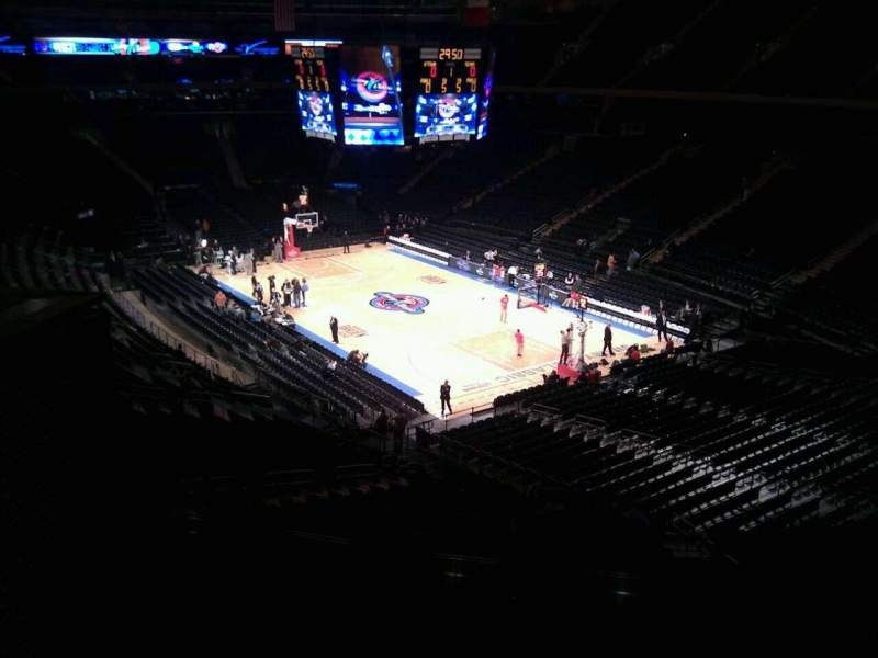 Seating view for Madison Square Garden Section 201 Row 6 Seat 15