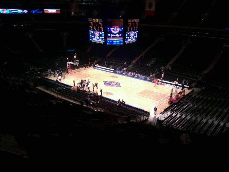 Seating view for Madison Square Garden Section 227 Row 11 Seat 7