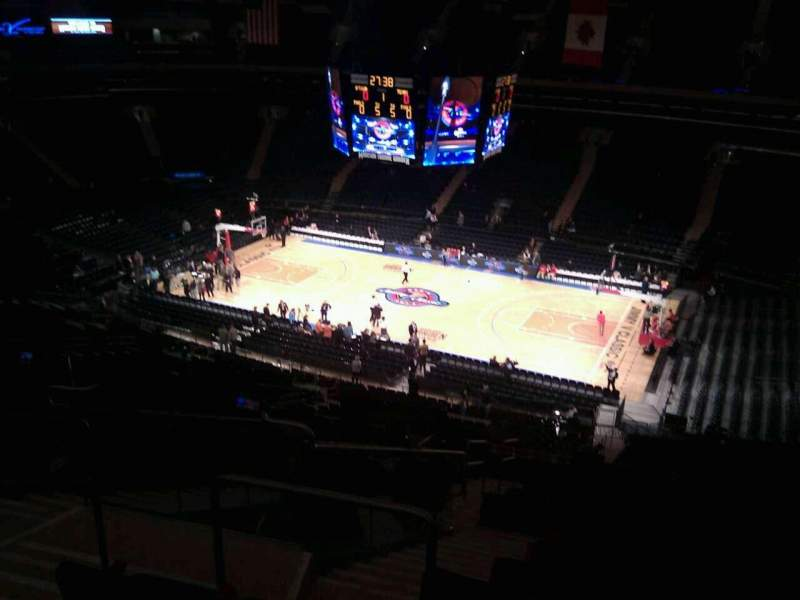 Seating view for Madison Square Garden Section 226 Row 15 Seat 5