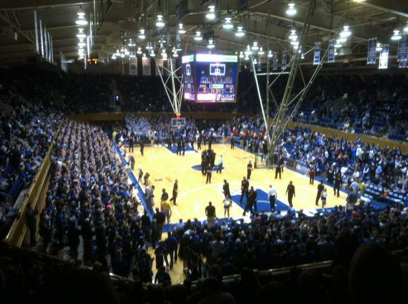 Seating view for Cameron Indoor Stadium Section 2 Row L Seat 24