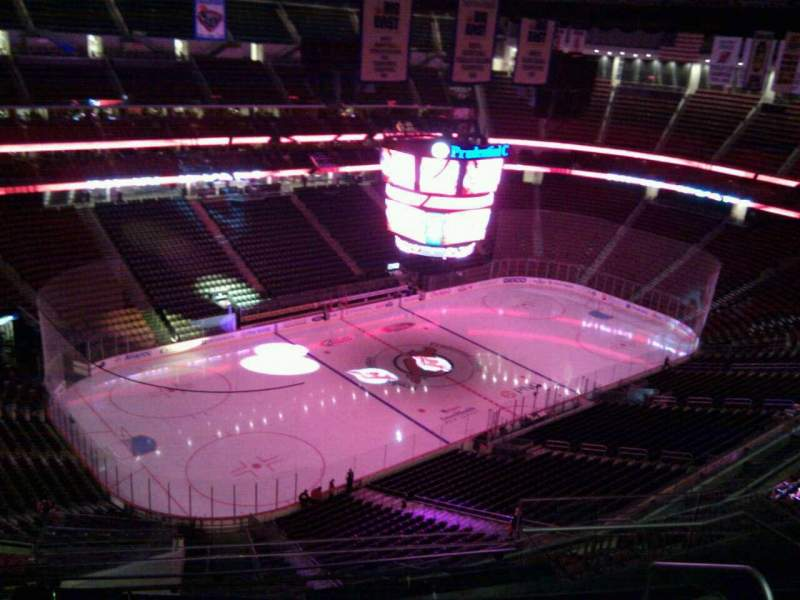 Seating view for Prudential Center Section 225 Row 6 Seat 4