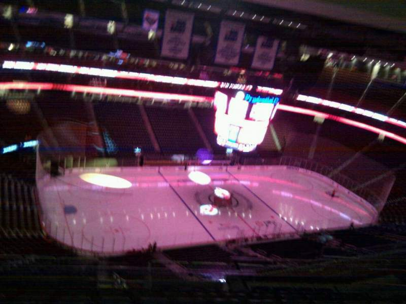 Seating view for Prudential Center Section 226 Row 9 Seat 13