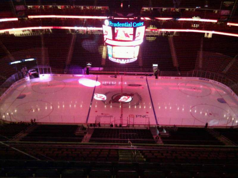 Seating view for Prudential Center Section 229 Row 7 Seat 14
