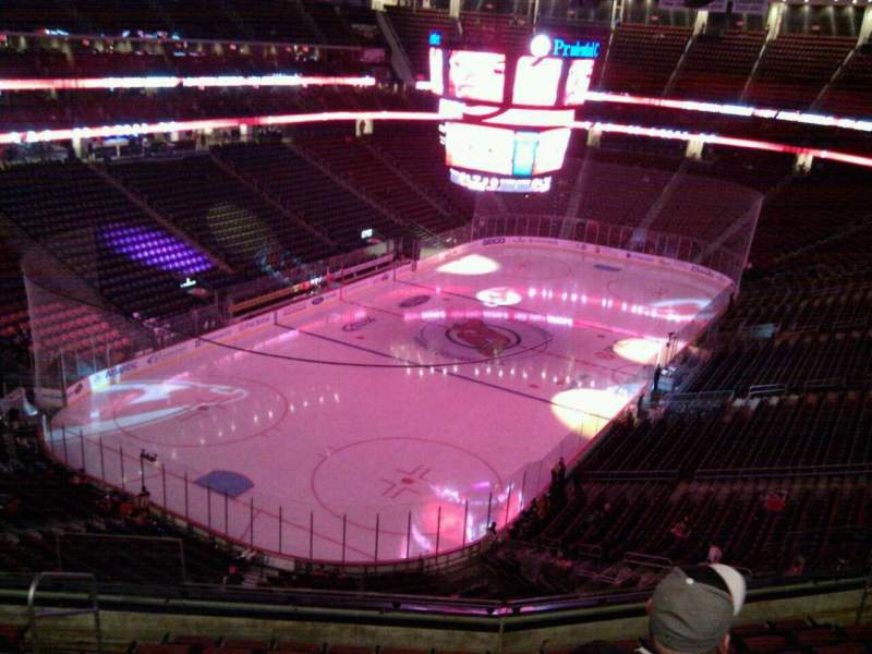 Seating view for Prudential Center Section 123 Row 9 Seat 12