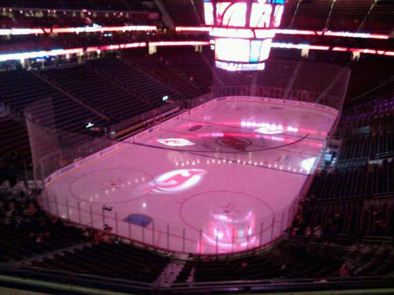 Seating view for Prudential Center Section 122 Row 5 Seat 7