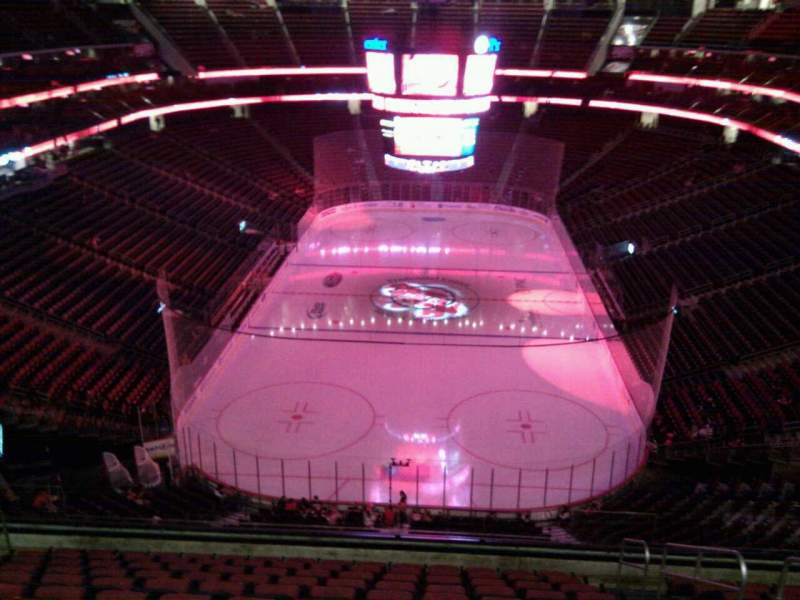Seating view for Prudential Center Section 120 Row 12 Seat 4