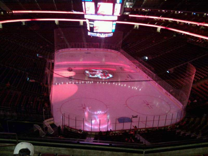 Seating view for Prudential Center Section 119 Row 7 Seat 11