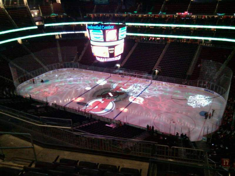 Seating view for Prudential Center Section 215 Row 6 Seat 19