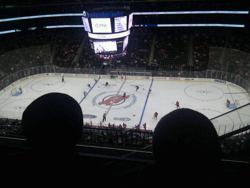 Seating view for Prudential Center Section 213 Row 3 Seat 4