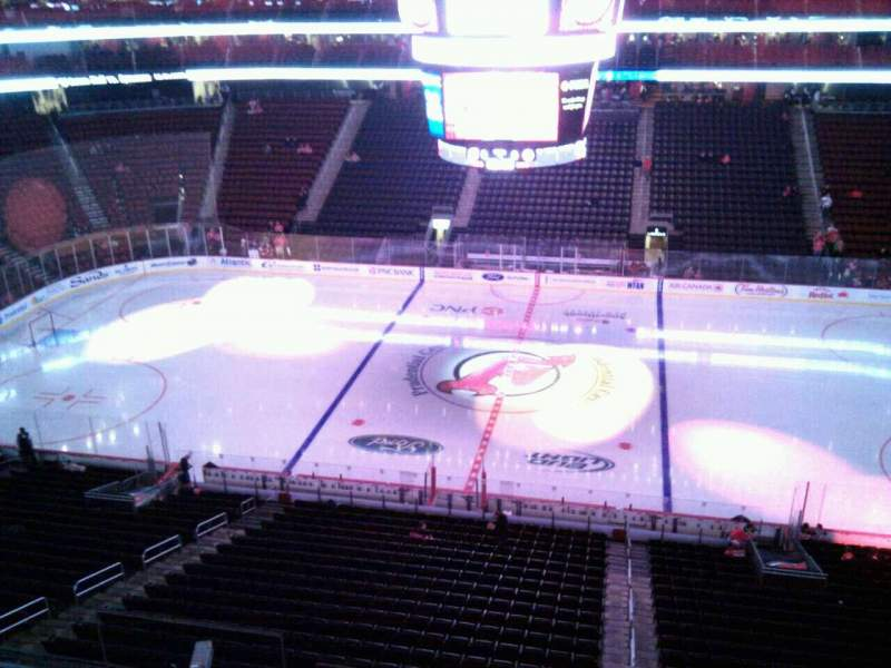 Seating view for Prudential Center Section 112 Row 4 Seat 3
