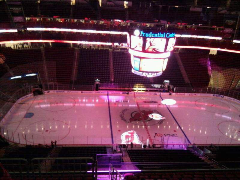 Seating view for Prudential Center Section 228 Row 2 Seat 8