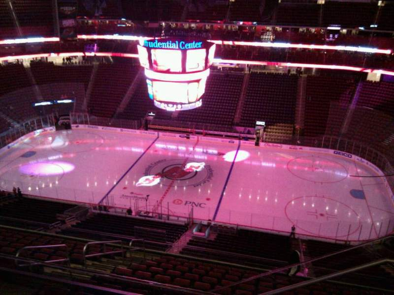 Seating view for Prudential Center Section 230 Row 4 Seat 4