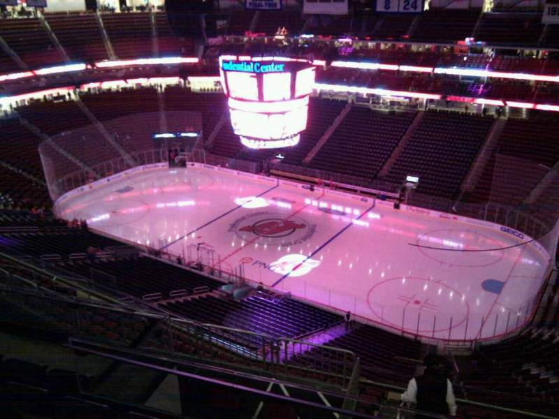 Seating view for Prudential Center Section 232 Row 5 Seat 13