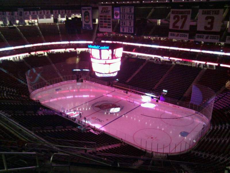 Seating view for Prudential Center Section 233 Row 8 Seat 5