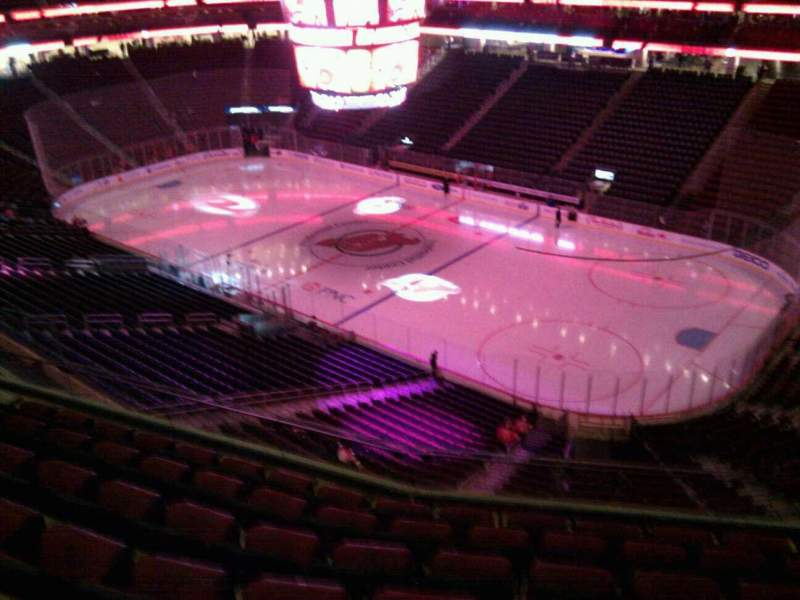 Seating view for Prudential Center Section 132 Row 7 Seat 6