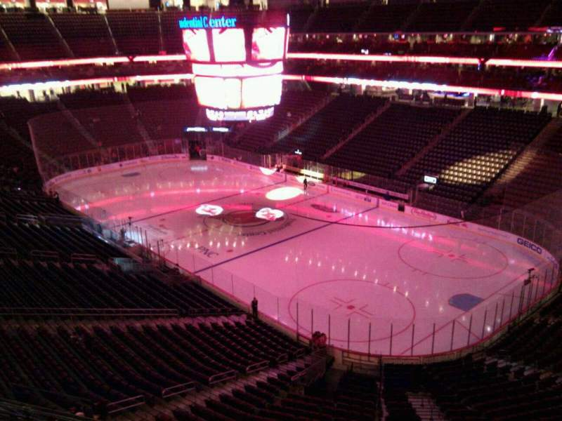 Seating view for Prudential Center Section 133 Row 2 Seat 9