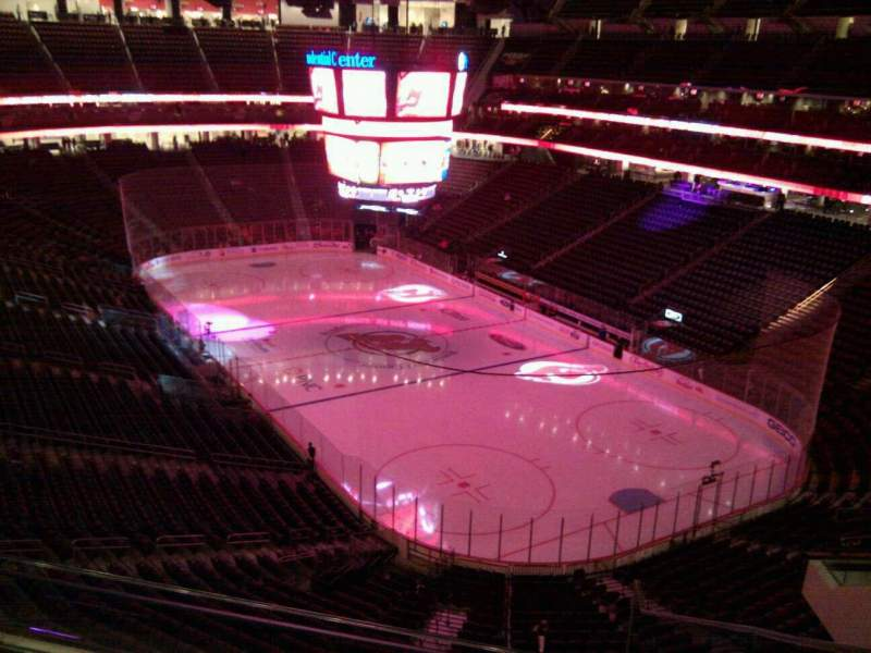 Seating view for Prudential Center Section 134 Row 4 Seat 1
