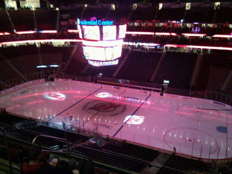 Seating view for Prudential Center Section 131 Row 6 Seat 16