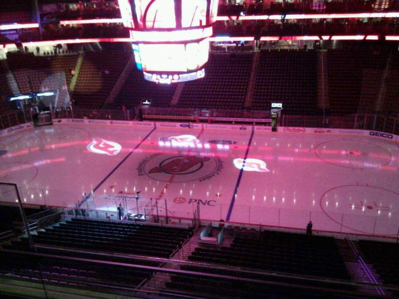 Seating view for Prudential Center Section 130 Row 3 Seat 15