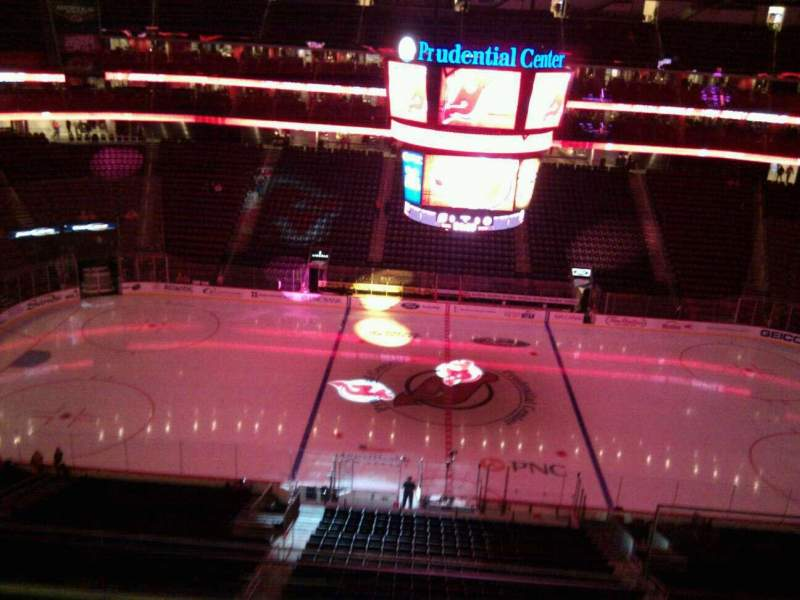 Seating view for Prudential Center Section 128 Row 5 Seat 3