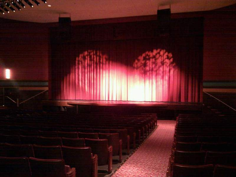 Seating view for Landis Theater Section orchestra right Row t Seat 2