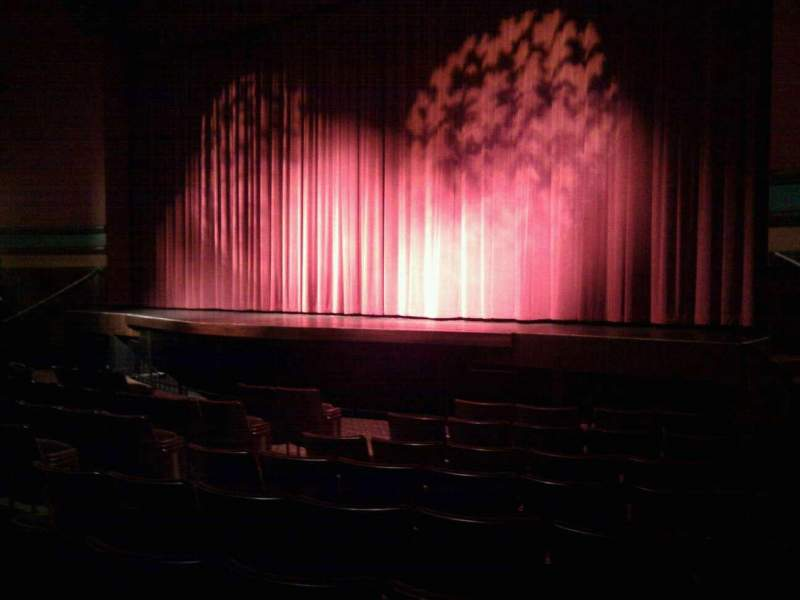 Seating view for Landis Theater Section orchestra right Row j Seat 18
