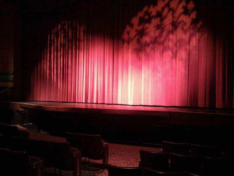 Seating view for Landis Theater Section orchestra right Row h Seat 10
