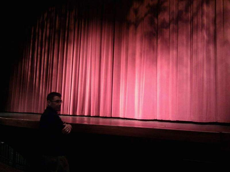 Seating view for Landis Theater Section orchestra right Row c Seat 2