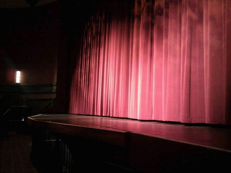 Seating view for Landis Theater Section orchestra right Row a Seat 8