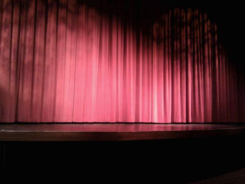Seating view for Landis Theater Section orchestra center Row d Seat 114