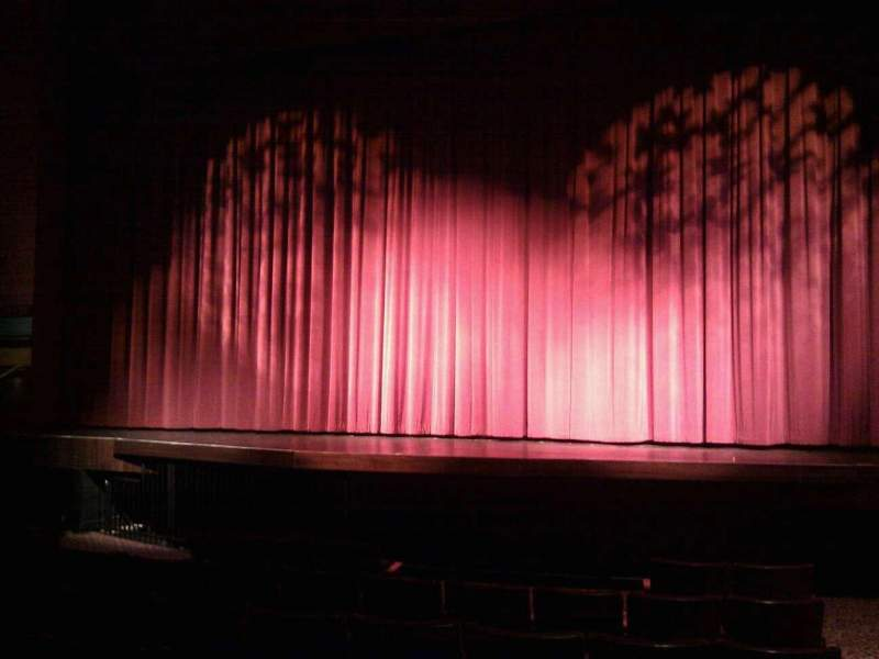 Seating view for Landis Theater Section orchestra center Row h Seat 101