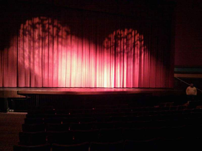 Seating view for Landis Theater Section orchestra center Row l Seat 113