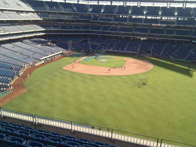 Seating view for Citizens Bank Park Section 302 Row 7 Seat 4