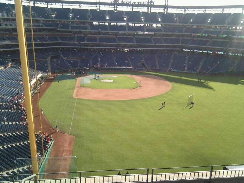 Seating view for Citizens Bank Park Section 304 Row 6 Seat 23