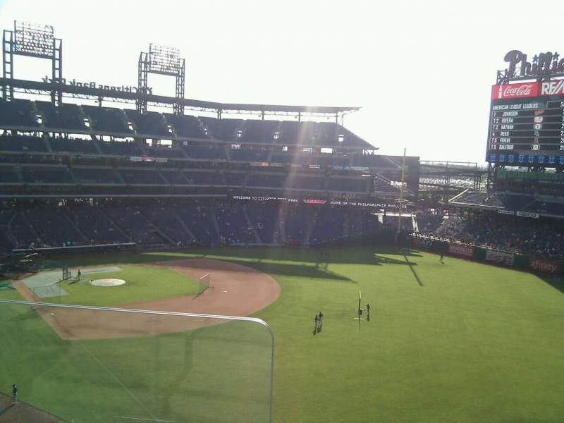 Seating view for Citizens Bank Park Section 307 Row 2 Seat 24
