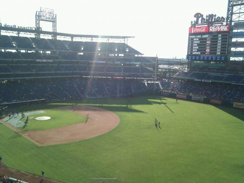 Seating view for Citizens Bank Park Section 308 Row 5 Seat 24