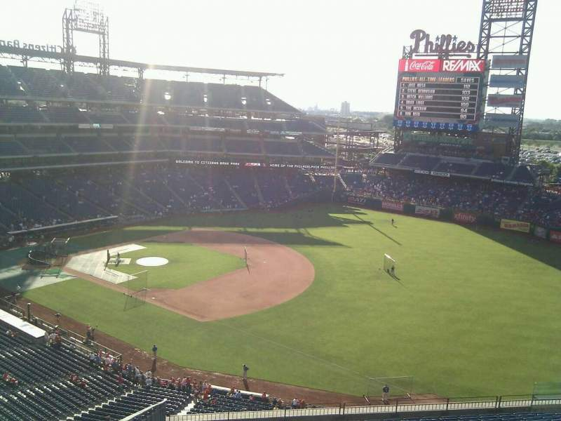 Seating view for Citizens Bank Park Section 310 Row 15 Seat 19