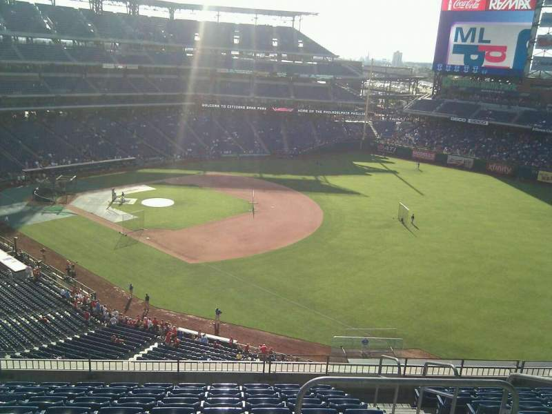 Seating view for Citizens Bank Park Section 310 Row 10 Seat 3