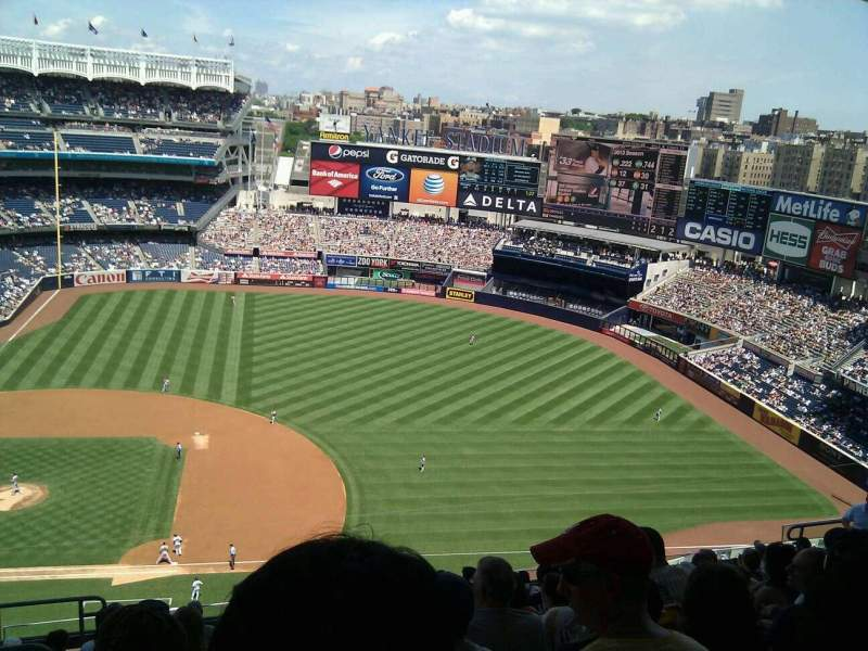 Seating view for Yankee Stadium Section 415 Row 12 Seat 21