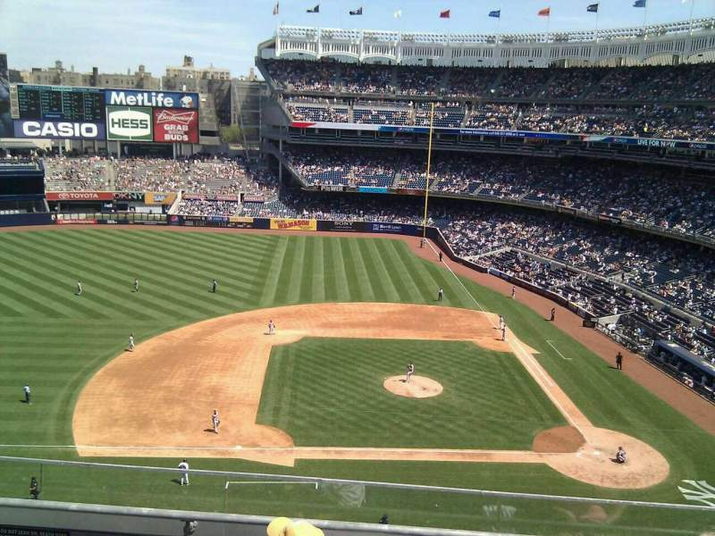 Seating view for Yankee Stadium Section 324 Row 4 Seat 15