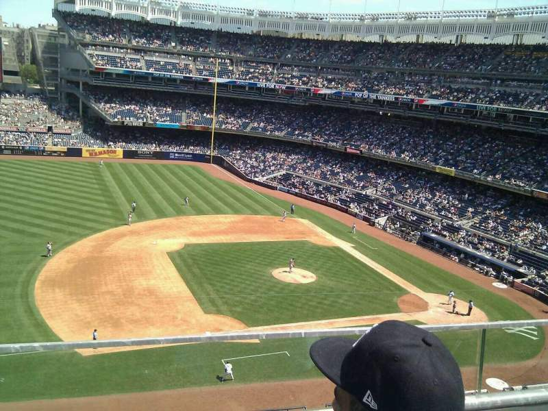 Seating view for Yankee Stadium Section 326 Row 2 Seat 9