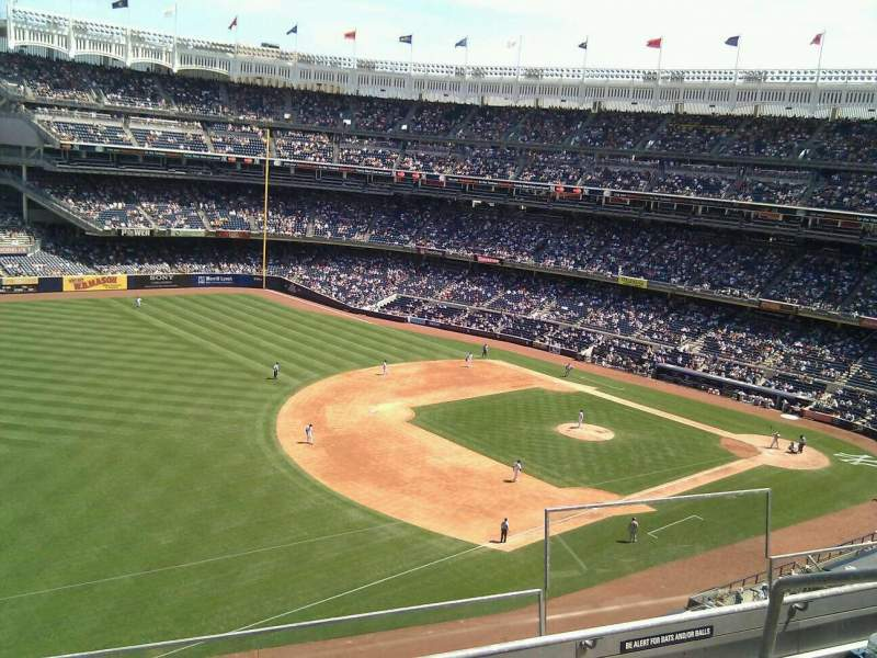 Seating view for Yankee Stadium Section 329 Row 4 Seat 4
