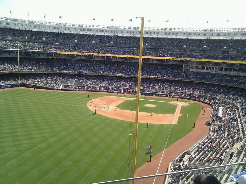 Seating view for Yankee Stadium Section 332 Row 3 Seat 19
