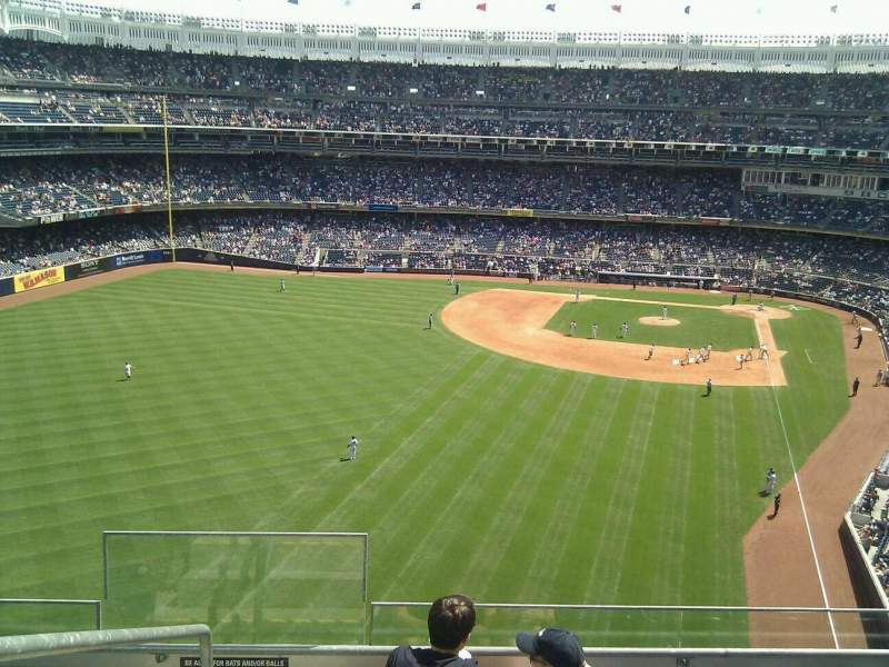 Seating view for Yankee Stadium Section 333 Row 5 Seat 28