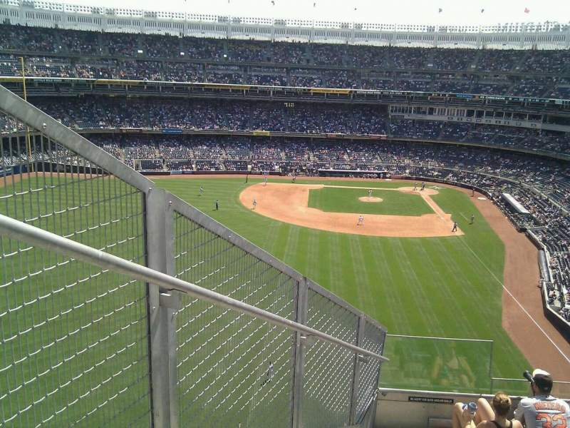 Seating view for Yankee Stadium Section 334 Row 7 Seat 34